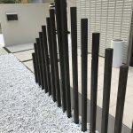 自宅の庭にDIYでスリットフェンスを作ってみました!方法や必要な道具、経費は?